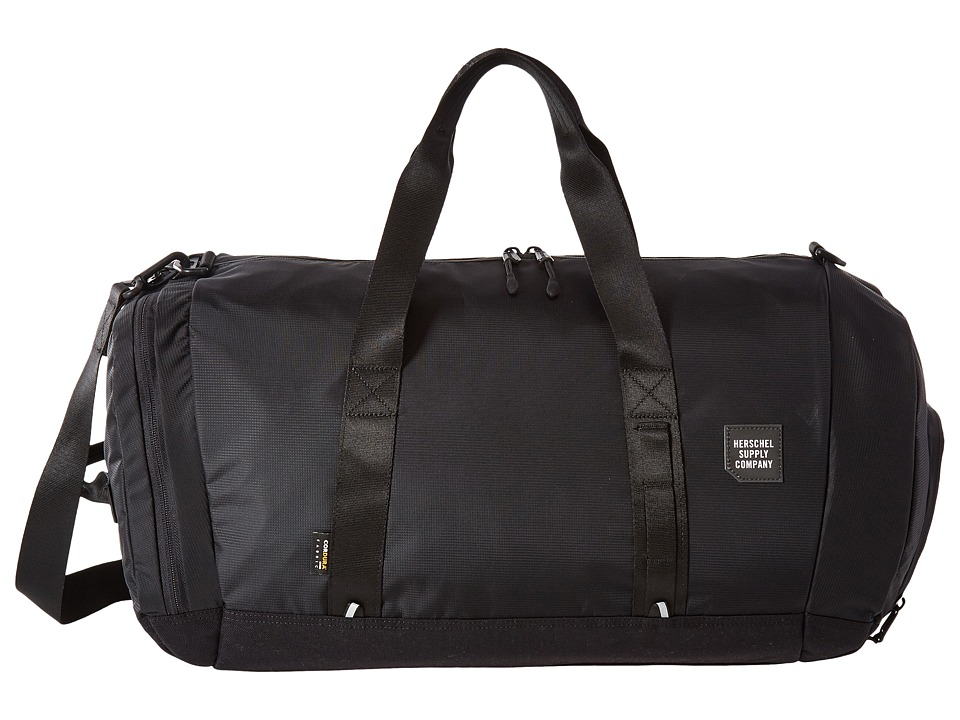Herschel Supply Co. - Gorge (Black) Duffel Bags
