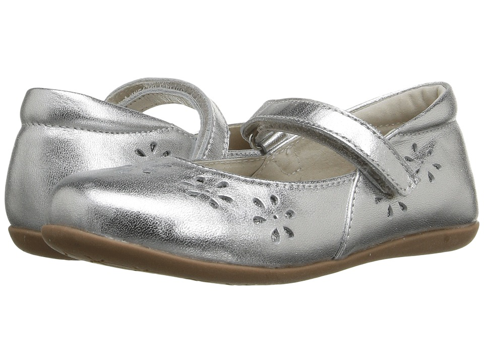 See Kai Run Kids Ginger II (Toddler/Little Kid) (Silver) Girl's Shoes