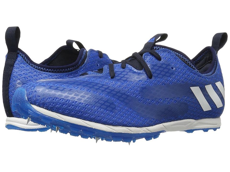 Adidas Running - XCS (Tech Steel/White/Shock Blue) Men's ...