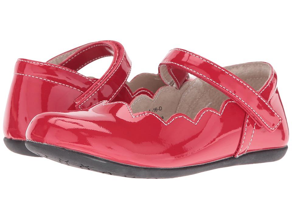 See Kai Run Kids Savannah (Toddler/Little Kid) (Red Patent) Girl's Shoes