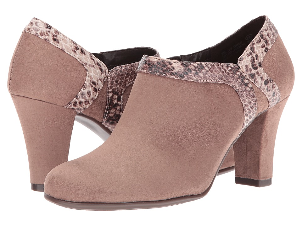 Aerosoles Day Strole (Taupe Snake) High Heels