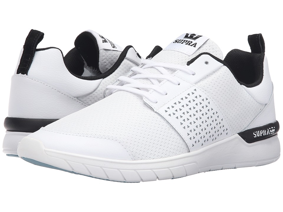 Supra Scissor (White Leather) Men