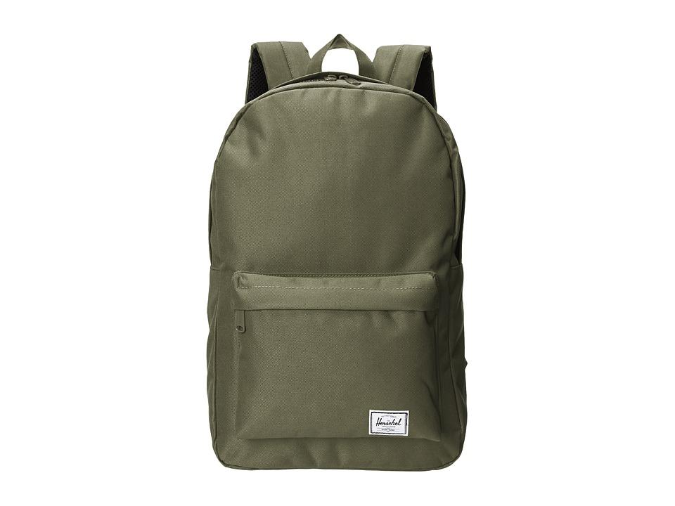 Herschel Supply Co. Classic (Deep Lichen Green) Backpack Bags