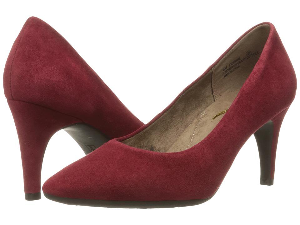 Aerosoles Exquisite (Dark Red Suede) High Heels