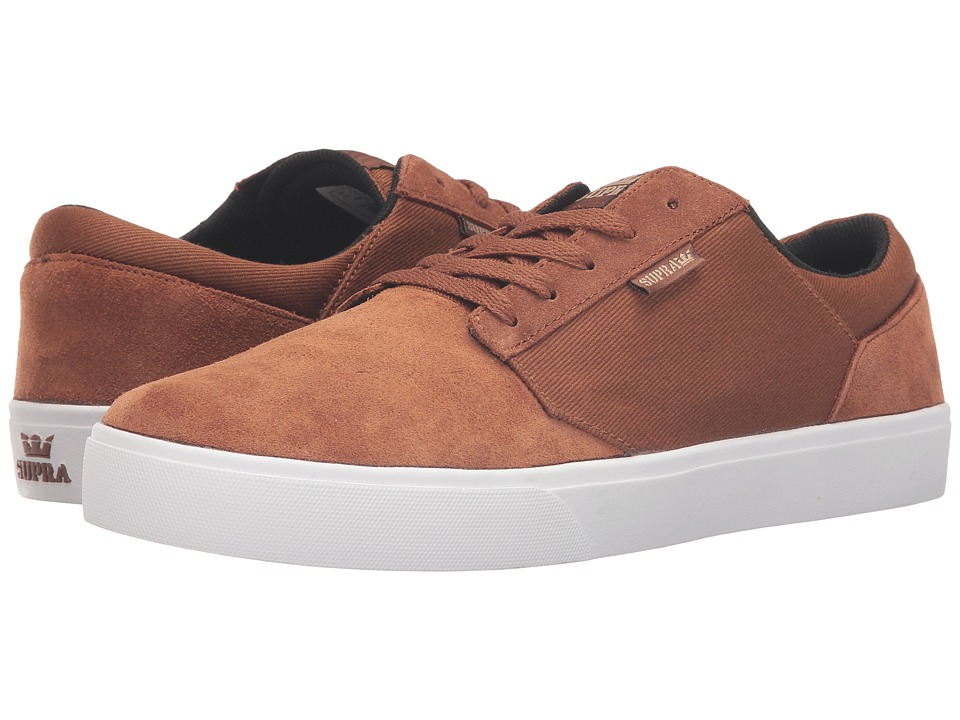 Supra Yorek Low (Brown Twill) Men