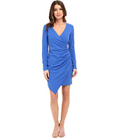 Adelyn Rae - Ruched Jersey Sheath Dress