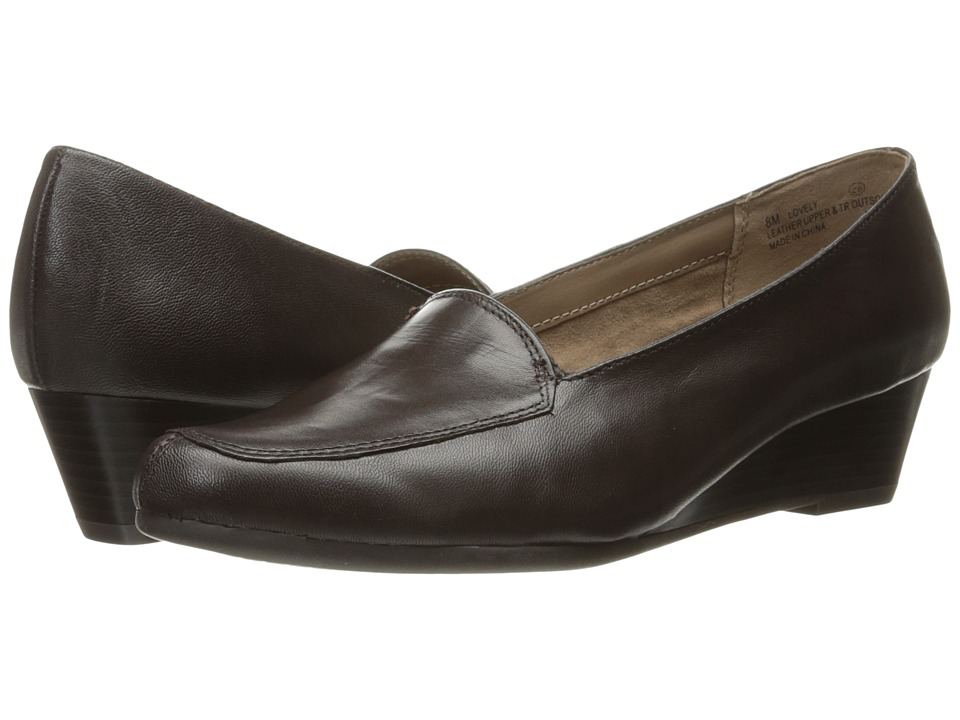 Aerosoles Lovely (Dark Brown Leather) Women