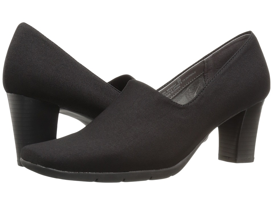 Aerosoles - Monday (Black Stretch) High Heels -  adult
