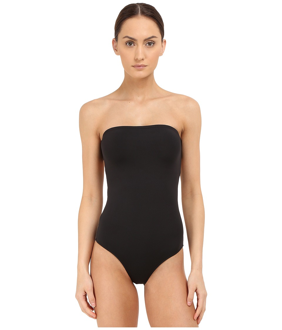 onia Allie Jet Black Womens Swimsuits One Piece
