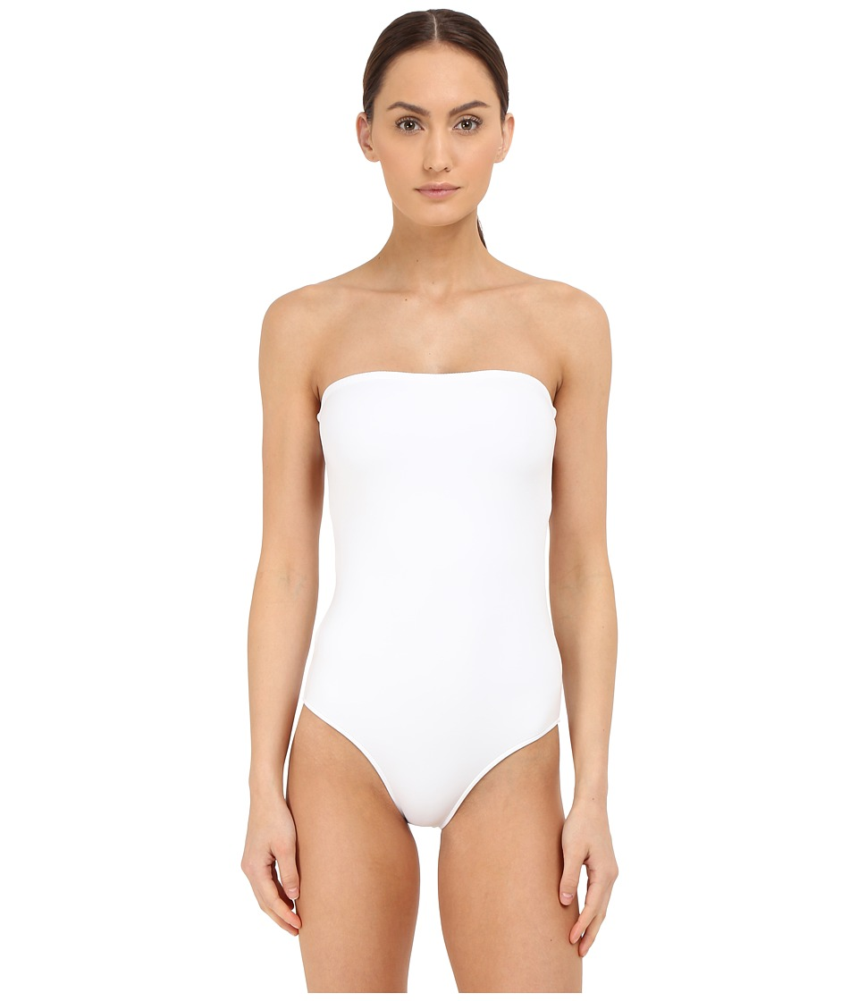onia Allie Bright White Womens Swimsuits One Piece