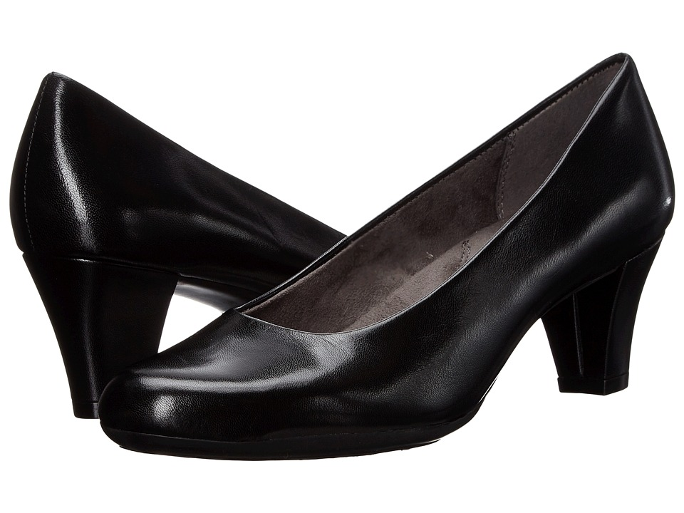 Aerosoles - Shore Thing (Black Leather) High Heels