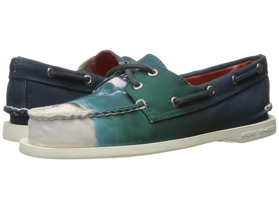 Sperry Top-Sider JAWS A/O 2-Eye Boat Shoe (Blue) Women