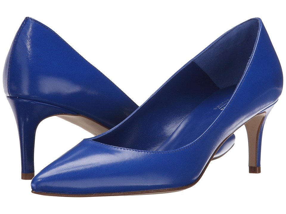 Summit White Mountain Callison Cobalt Leather High Heels