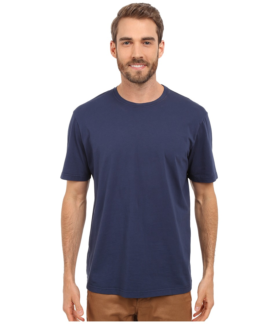 Mod-o-doc - Sunset Short Sleeve Crew (New Navy) Mens Short Sleeve Pullover