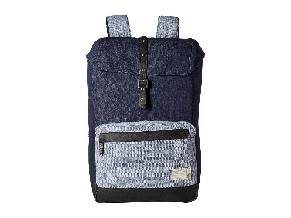 HEX Coast Backpack Denim/Tweed Backpack Bags