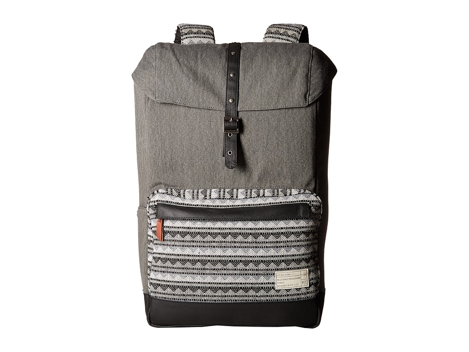 HEX Coast Backpack Grey/Geo Backpack Bags