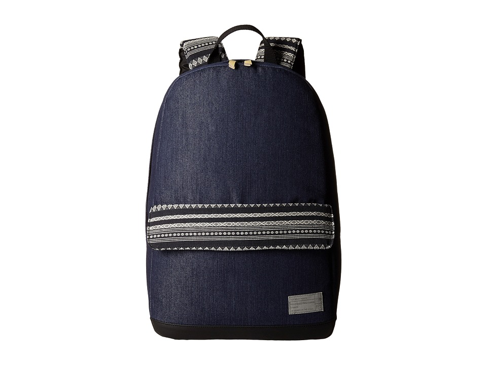 HEX Echo Backpack Denim/Stripe Backpack Bags