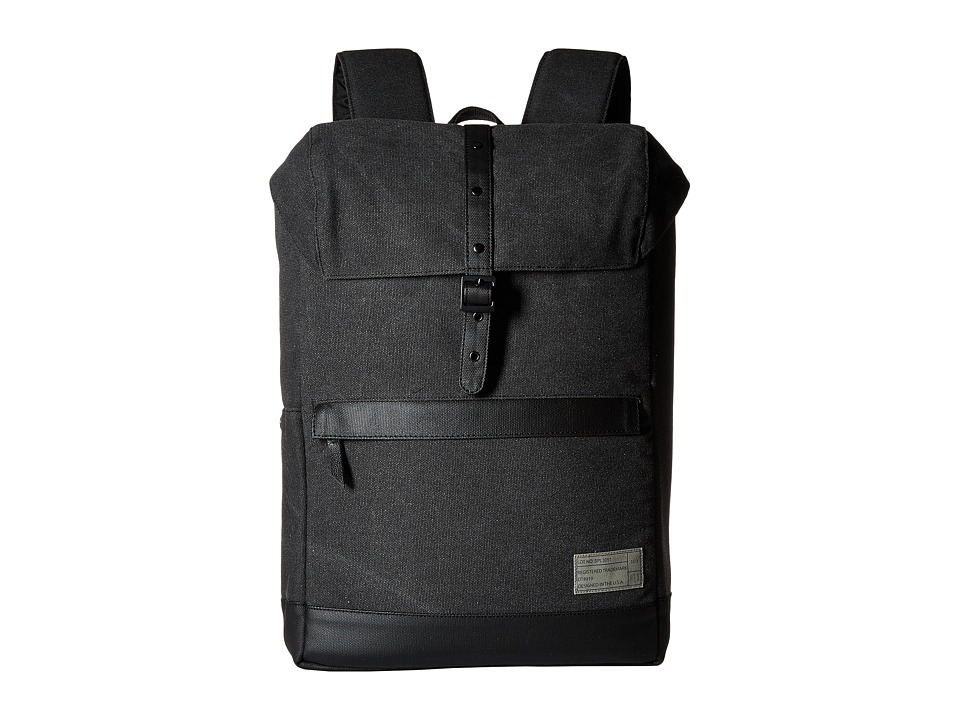 HEX Alliance Backpack Charcoal Canvas Backpack Bags