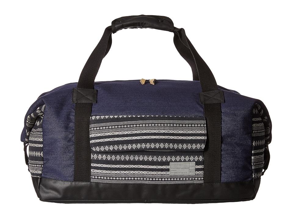 HEX - Relay Duffel (Denim/Stripe) Duffel Bags