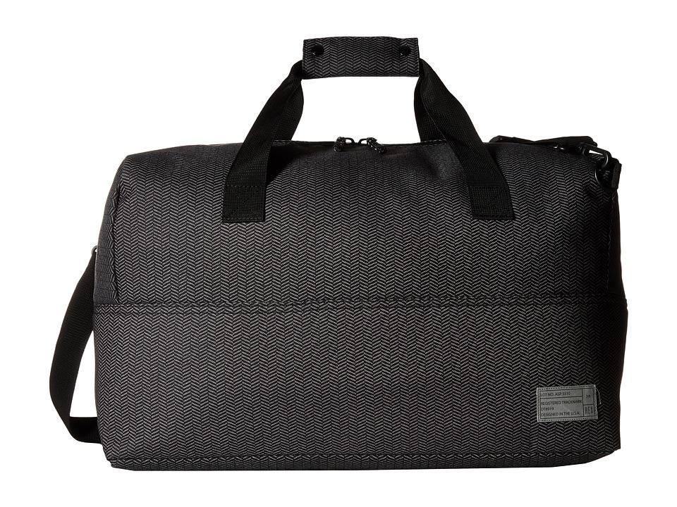 HEX - Nomad Duffel (Grey/Herringbone) Duffel Bags