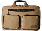 HEX Convertible Briefcase (Khaki)