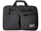 HEX Convertible Briefcase (Charcoal Canvas)