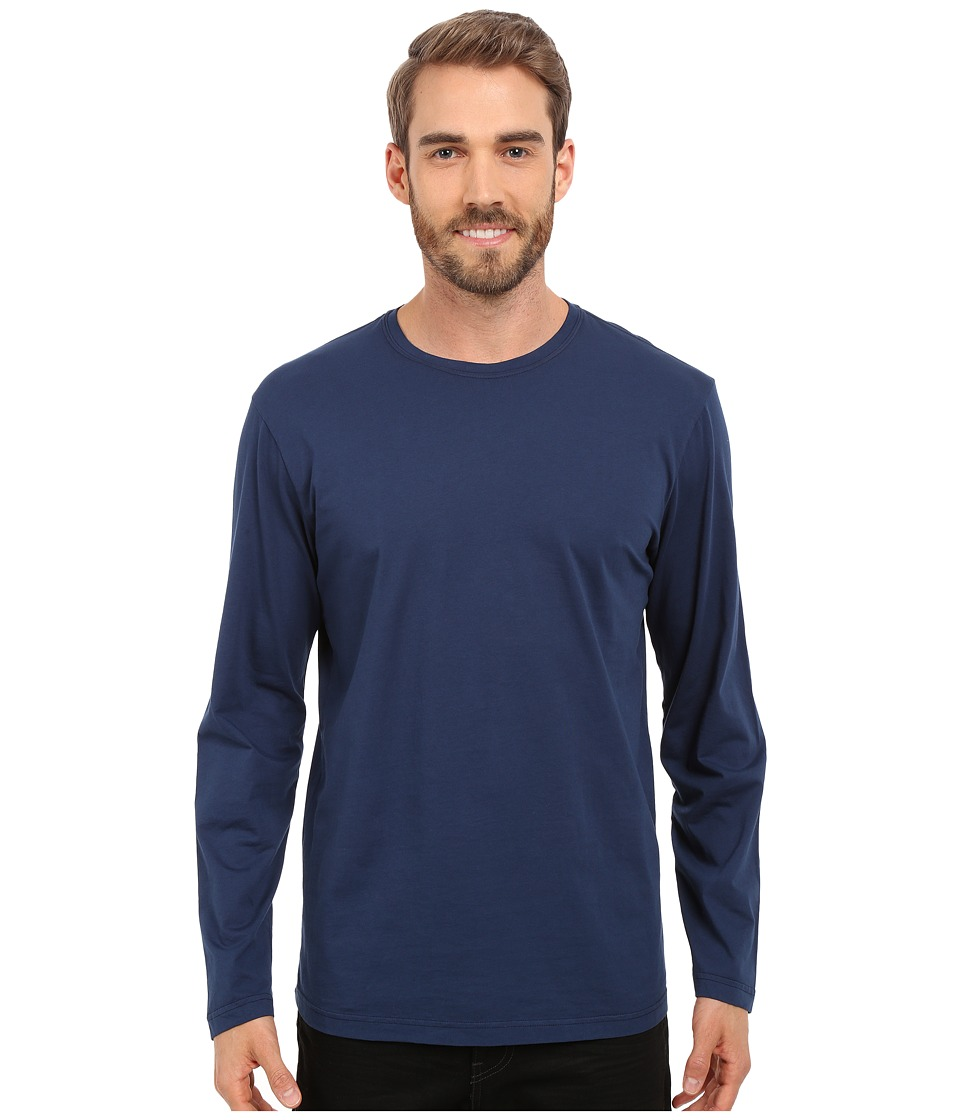 Mod-o-doc - Salt Creek Long Sleeve Crew (New Navy) Mens T Shirt