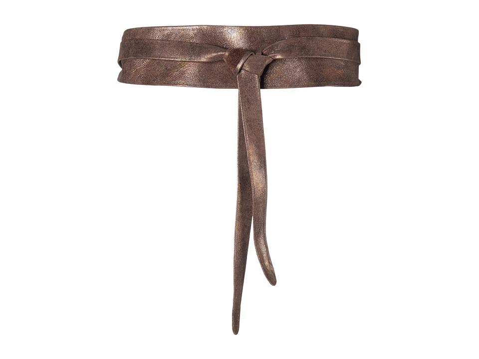 ADA Collection Obi Classic Wrap Truffle Womens Belts