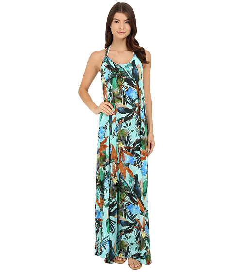 Vitamin A Swimwear Flute Long Dress Cover-Up