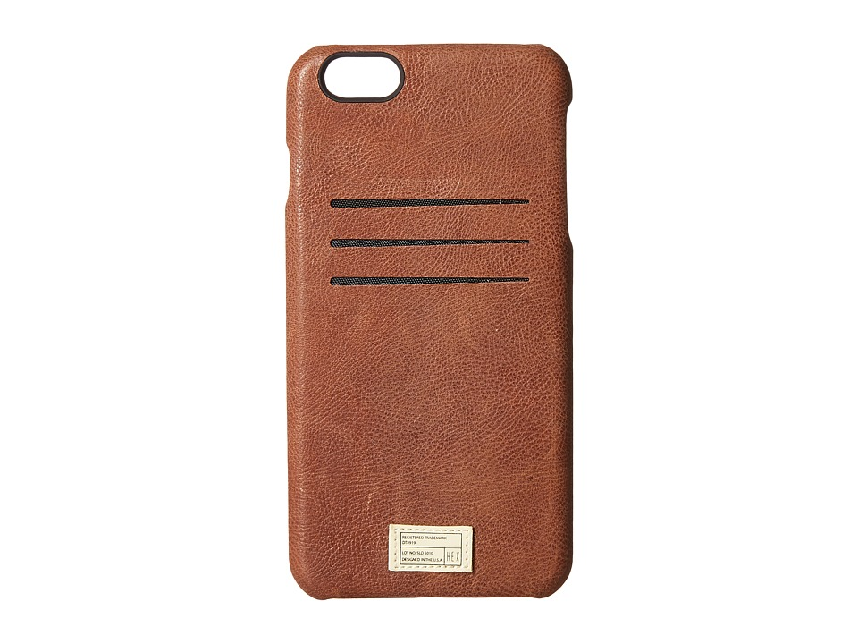 HEX - iPhone6+/6S+ Solo Wallet (Brown) Cell Phone Case