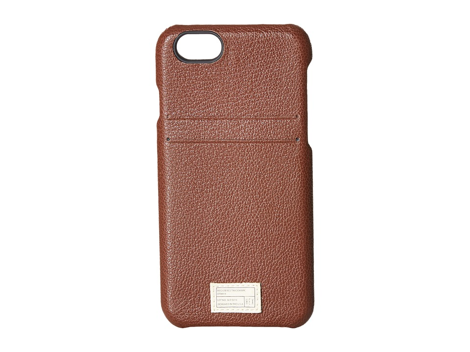 HEX - iPhone6/6S Solo Wallet (Dark Brown) Cell Phone Case