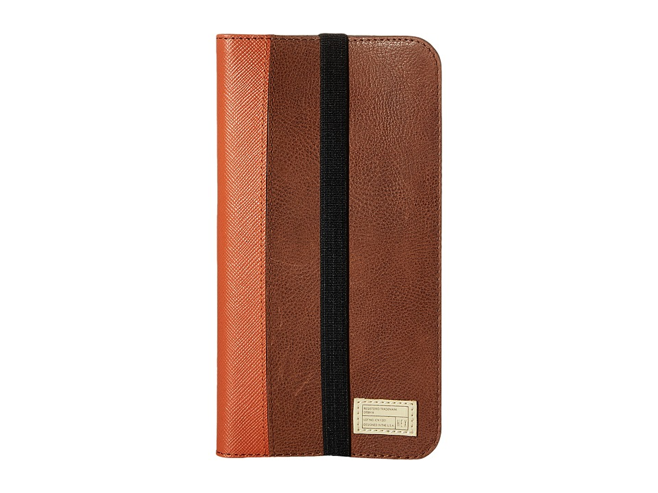 HEX - iPhone6+/6S+ Icon Wallet (Brown) Cell Phone Case