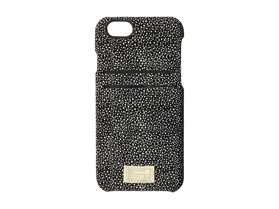 HEX - iPhone6/6S Solo Wallet (Black/White Stingray) Cell Phone Case