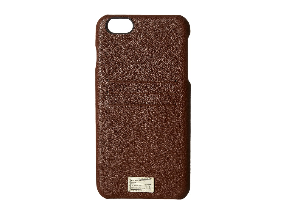 HEX - iPhone6+/6S+ Solo Wallet (Dark Brown) Cell Phone Case