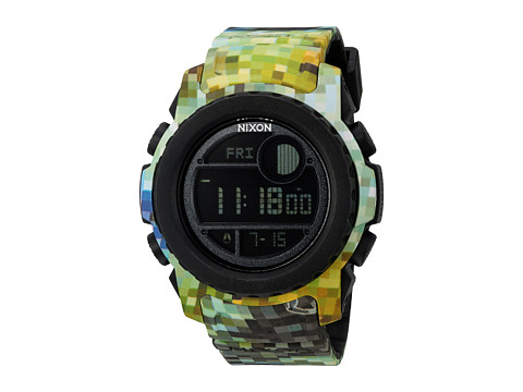 Nixon The Super Unit X Riffe Digi-Tek Camo Collection