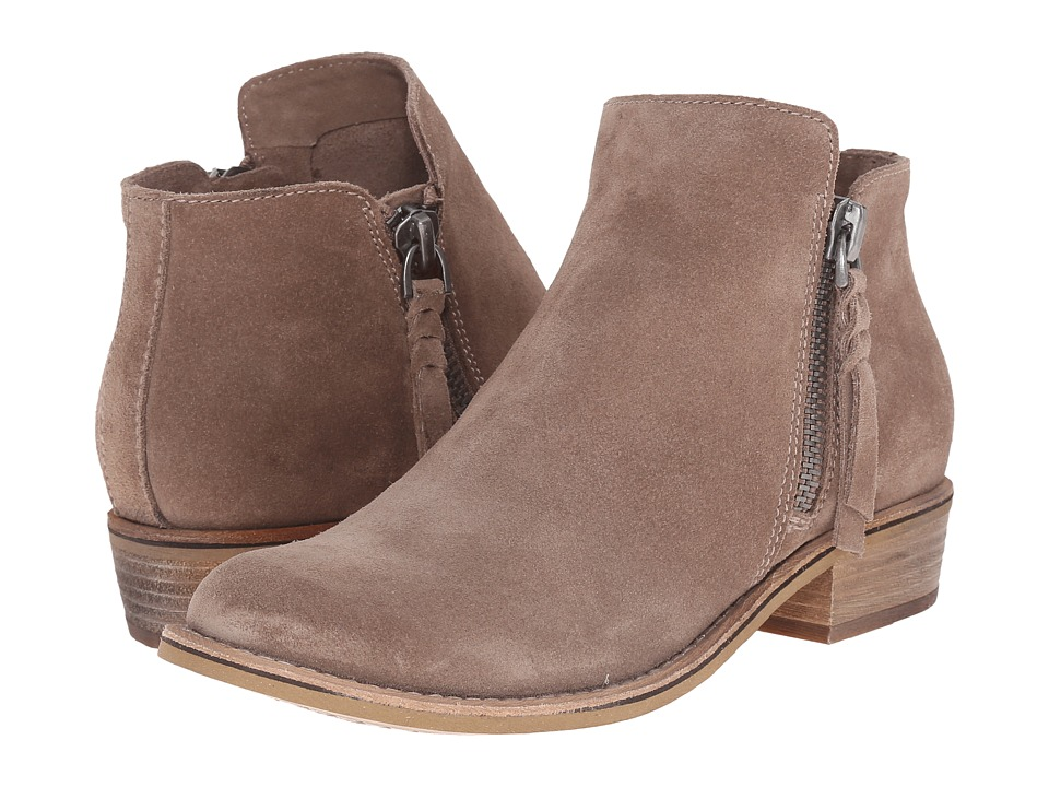 Dolce Vita Sutton Dark Taupe Suede Womens Shoes