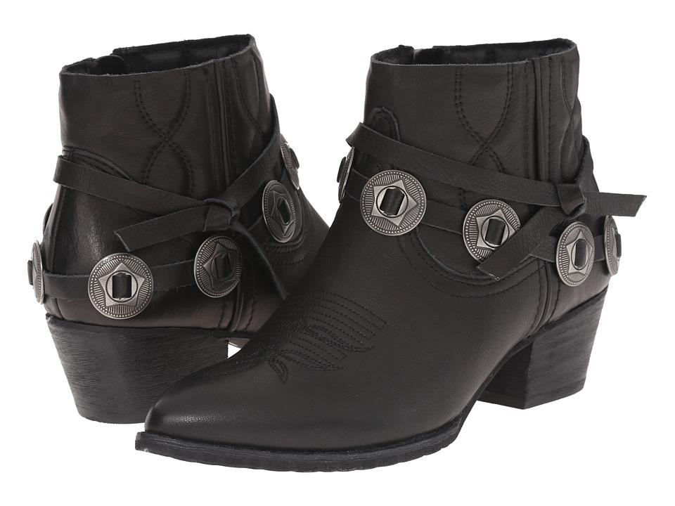 Dolce Vita - Skye (Black Leather) Women