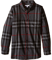 Burberry Kids - Mini Fred Pocket Shirt (Little Kids/Big Kids)