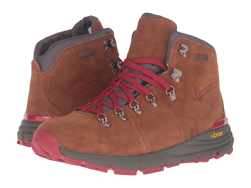 Danner Mountain 600 4.5 (Brown/Red) Men's Shoes