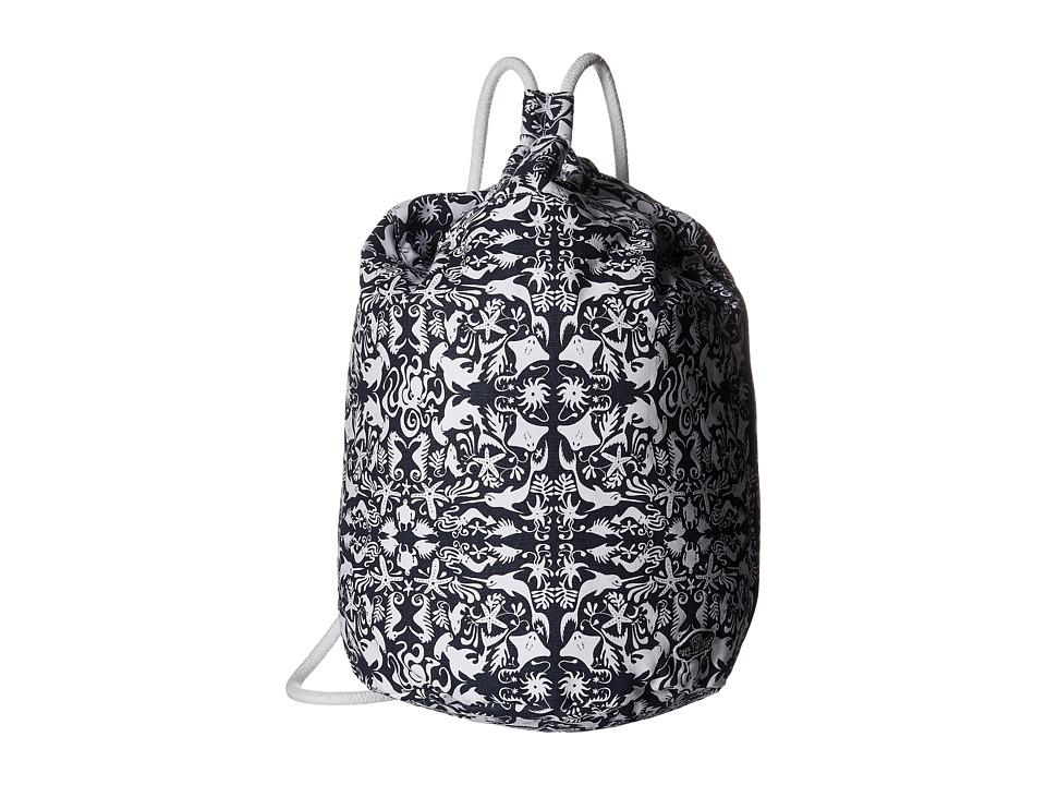 Vans - Sea You Later Cinch Bag (Original Navy/True White) Bags