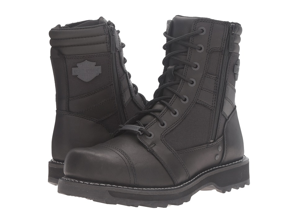Harley-Davidson - Boxbury (Black) Mens Work Lace-up Boots