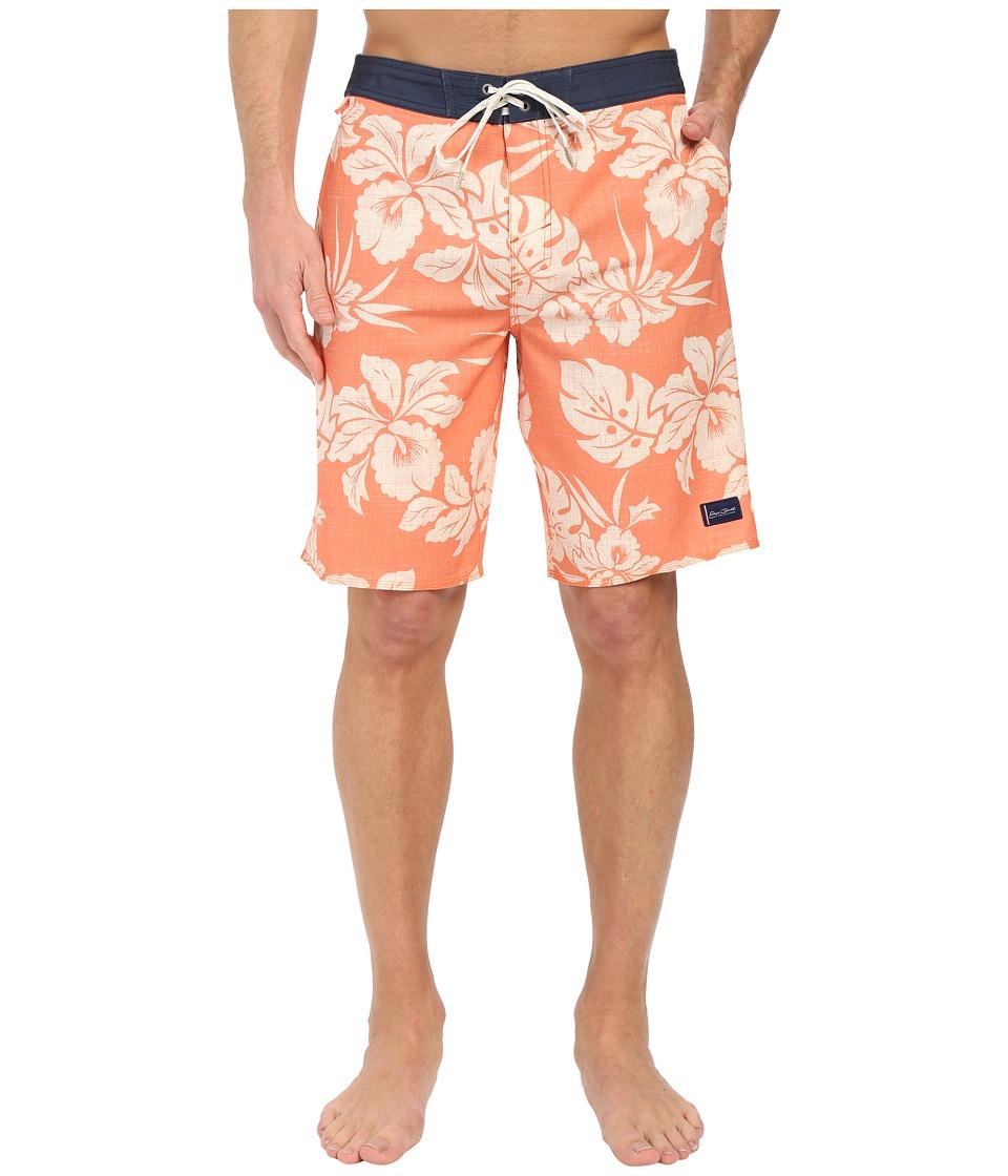Jack ONeill Akala Boardshorts Dark Coral Mens Swimwear