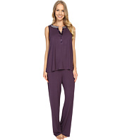 Midnight by Carole Hochman - Pajama with Scallop Trim