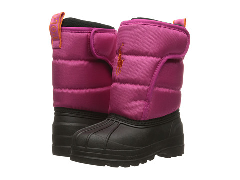 Polo Ralph Lauren Kids Hamilten II EZ (Big Kid) - Active Pink Heavy Nylon