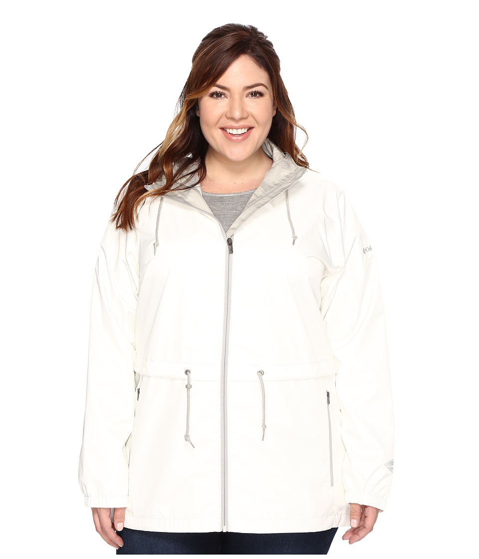 Columbia Plus Size Arcadia Casual Jacket (Sea Salt) Women