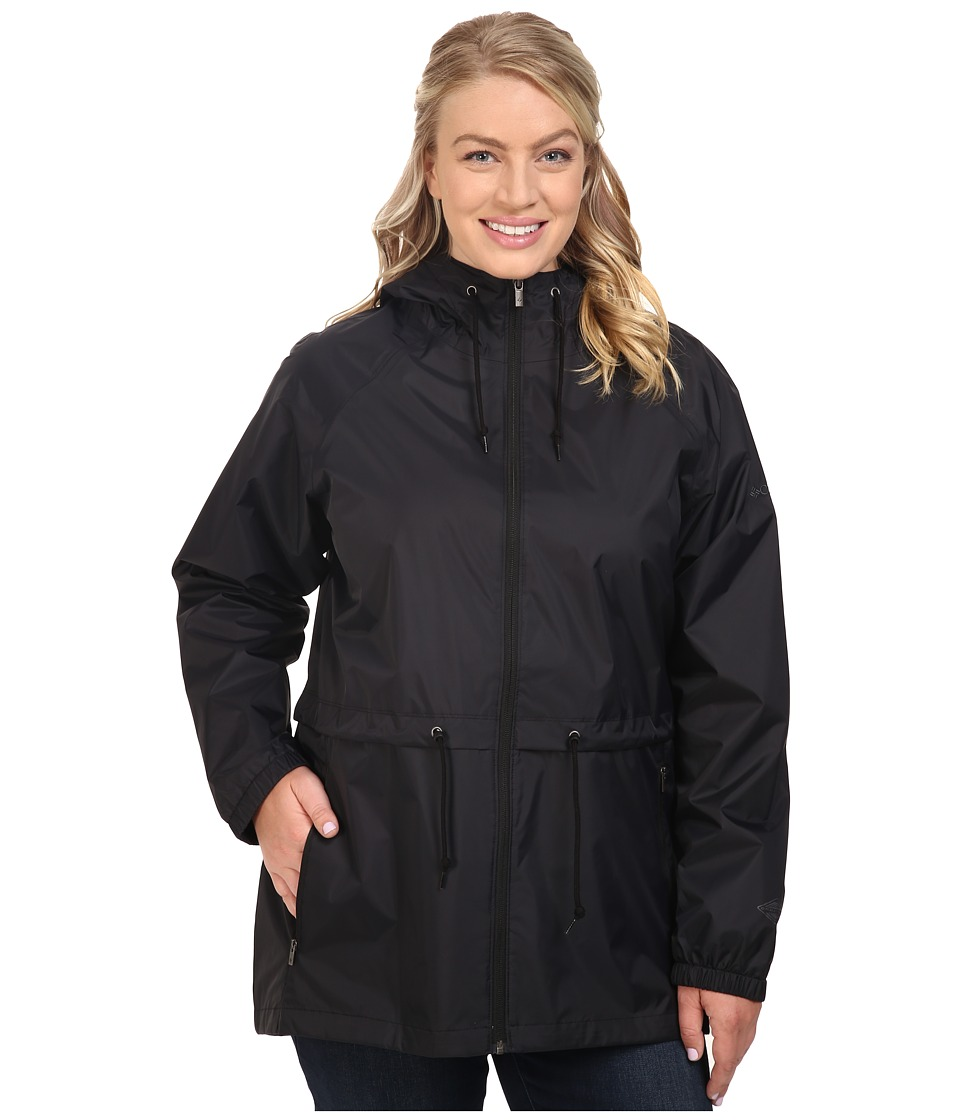 Columbia Plus Size Arcadia Casual Jacket (Black) Women