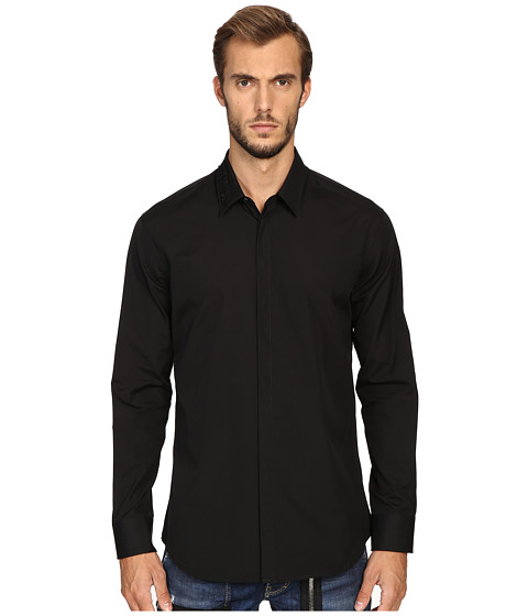 DSQUARED2 Relax Dan Safety Pin Poplin Shirt