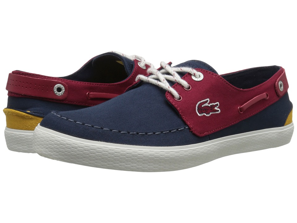 Lacoste - Sumac 216 1 (Navy/Red) Men