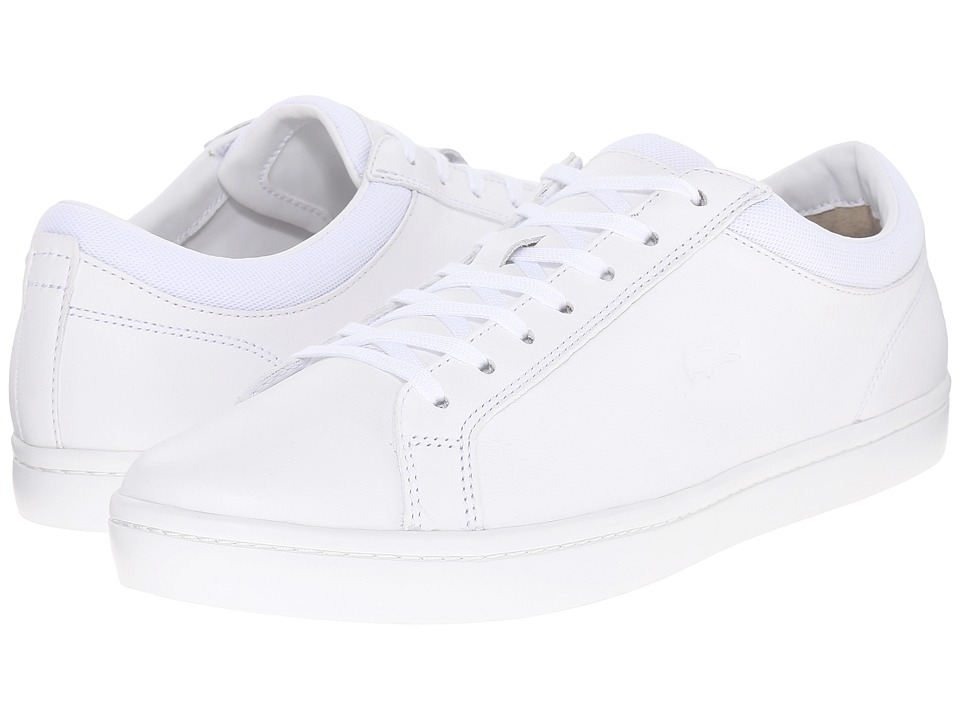 Lacoste - Straightset 216 1 (White) Men