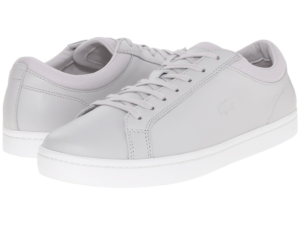 Lacoste - Straightset 216 1 (Light Grey) Men